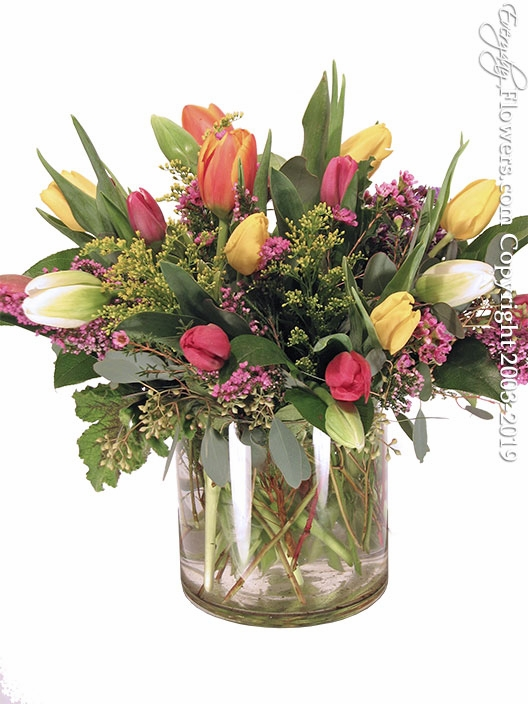 Twenty Mixed Tulips