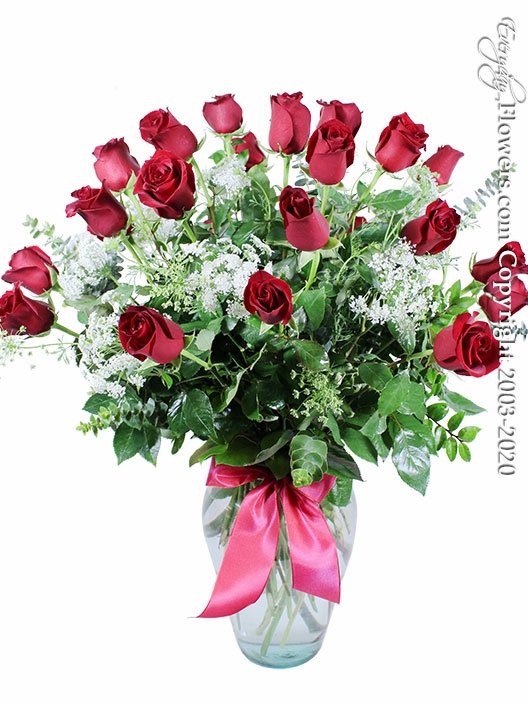 "Two Dozen Red Roses<p style=""color:red;"">Not Available For Valentines Week</p>"