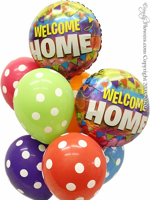 Welcome Home Balloons