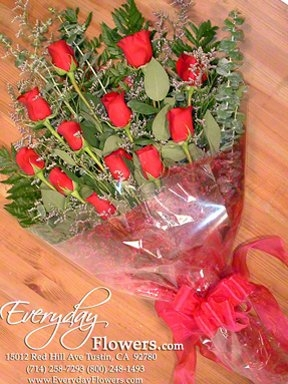 Wrapped Bouquet Of Rose