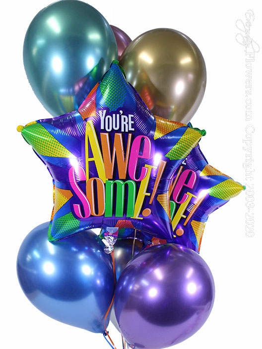You're Awesome Balloons