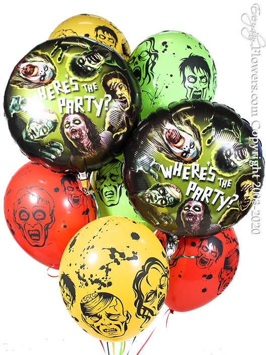 Zombie Party Balloons