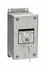 1K4X-SS Nema 4X Exterior Open-Close Key Switch With Stainless Steel Enclosure