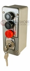 3BLM Exterior Three Button Lockout Surface Mount Control Station