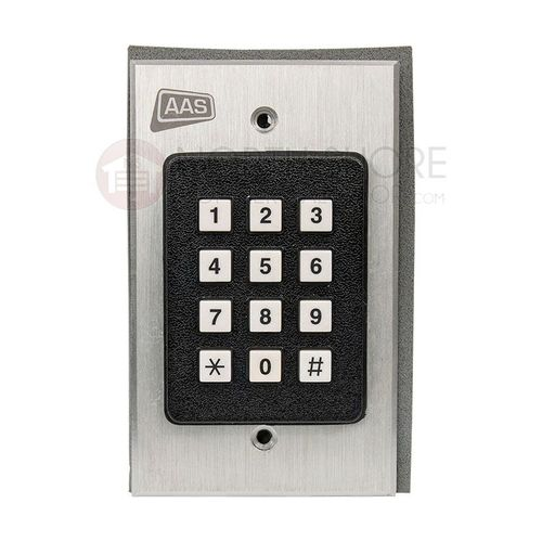 AAS 12-000sg RemotePro Wiegand Output Wall Mount Slave Keypad By Security Brands Inc.