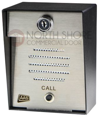 AAS 17-300  Post Mount Exterior Intercom By Security Brands Inc.