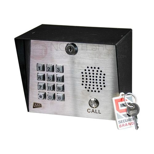 AAS 19-100i Advantage DKLP Digital Keypad W/ INTERCOM by Security Brands Inc.
