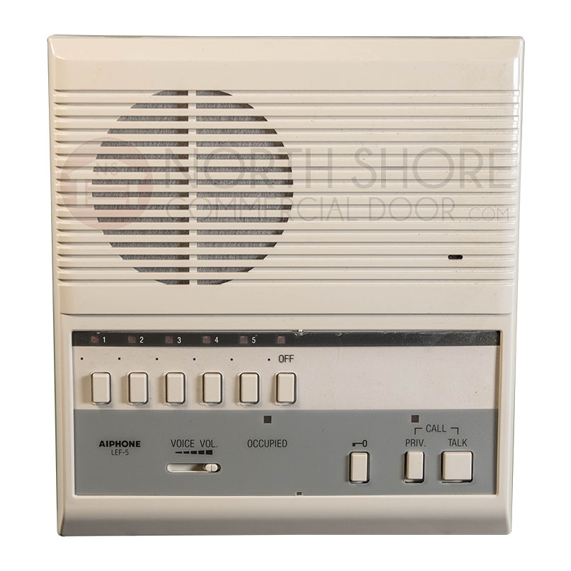 AAS LEF-5 AIPHONE Intercom System From Security nds Inc. on