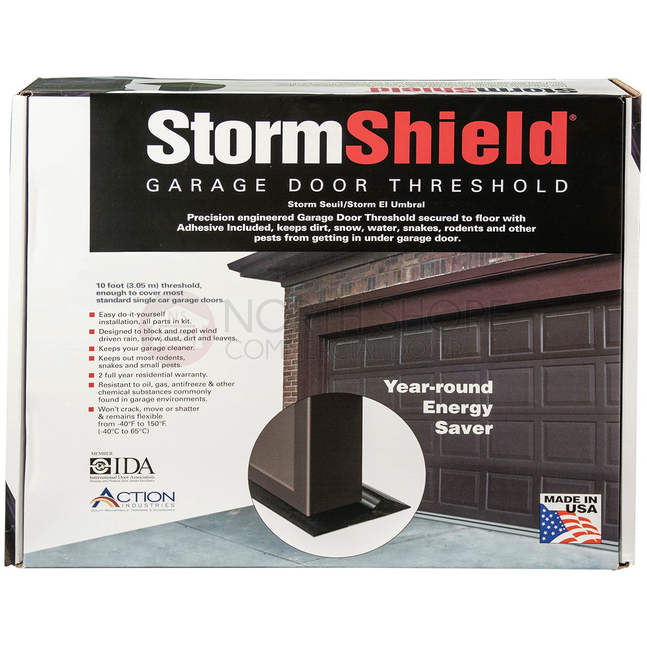 Xcluder Rodent Proof Garage Door Bottom Seal Opener Remote Circuit Board This A Shot 16 Ft Stormshield Threshold Weather Kit 10