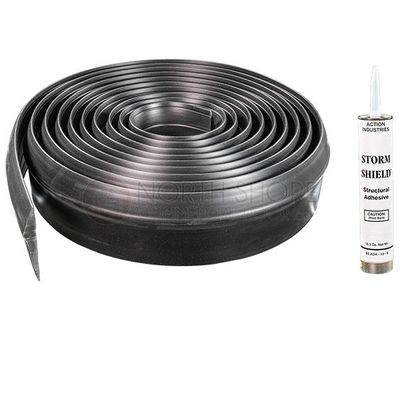 StormShield Garage Door Threshold Weather Seal Kit - 10-ft. / 16-ft. / 20-ft.