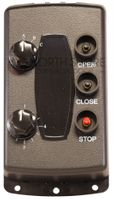 Allstar 190-107475 535T 27-Channel Commercial Door Control Transmitter with Open/Close/Stop