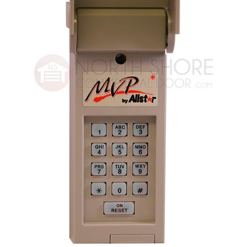 Allstar MVP-WKE 190-110927 MVP Garage Door Opener Wireless Keypad