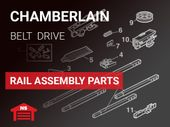 Chamberlain Rail Assembly Parts - Belt Drive