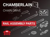 Chamberlain Rail Assembly Parts - Chain Drive