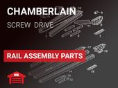 Chamberlain Rail Assembly Parts - Screw Drive