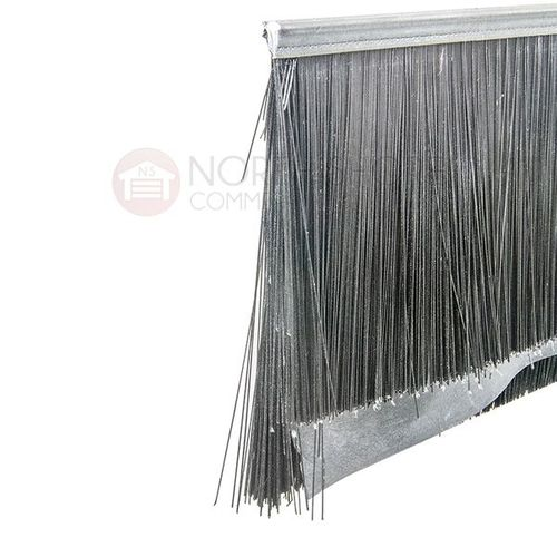 Brush Seal with EPDM Insert Fin and Double-Layer Bristles