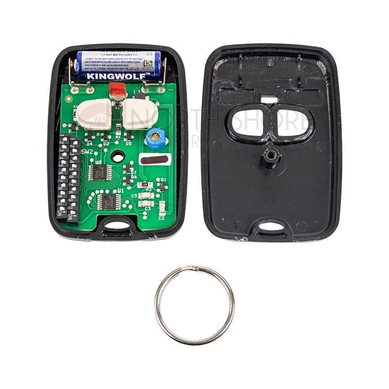 Digi Code 2 Button Garage Door Transmitter Dc5072 310 Mhz