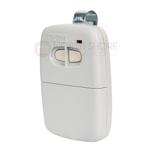 Digi-Code 2 Button Visor Garage Door Opener Transmitter DC5060