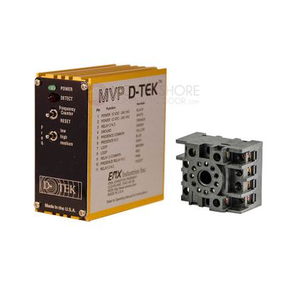 EMX MVP D-TEK Gate and Garage Door Loop Detector