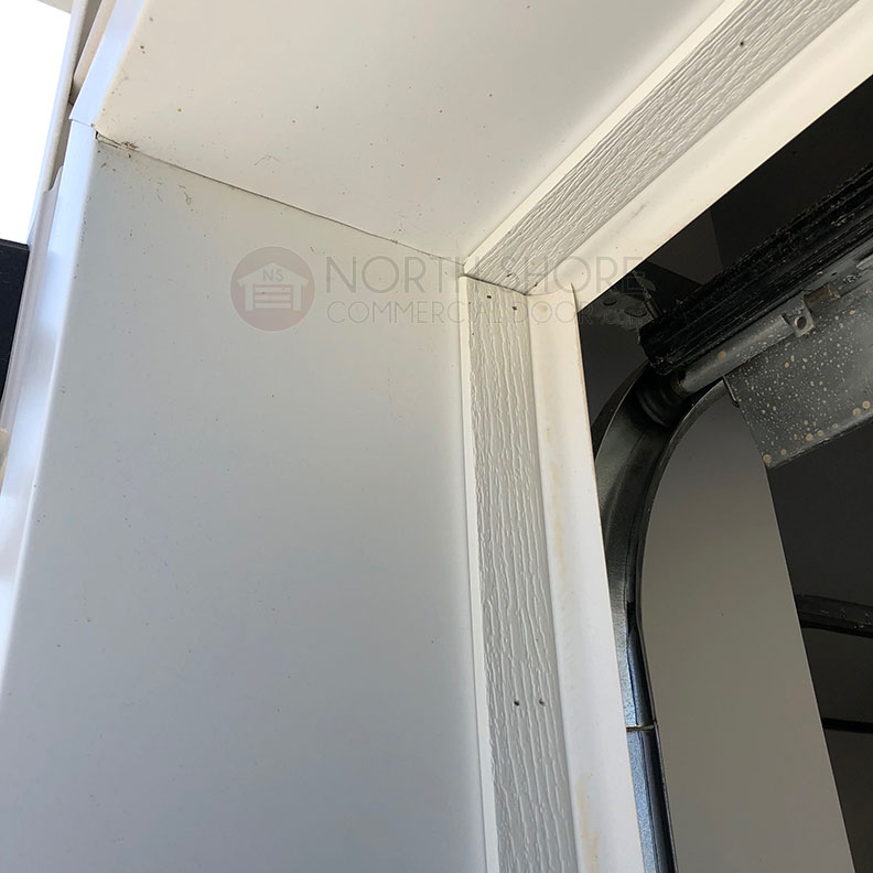Garage Door Stop Molding Weather Seal Weatherstripping