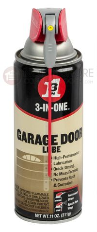 Gate and Garage Door 3-IN-ONE Lube