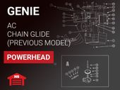 Genie Previous Model Powerhead: AC Chain Glide
