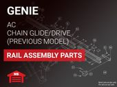 Genie Previous Model Rails: AC Chain Glide, Chain Drive