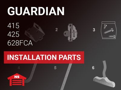Guardian Model 415 425 628FCA Installation Parts