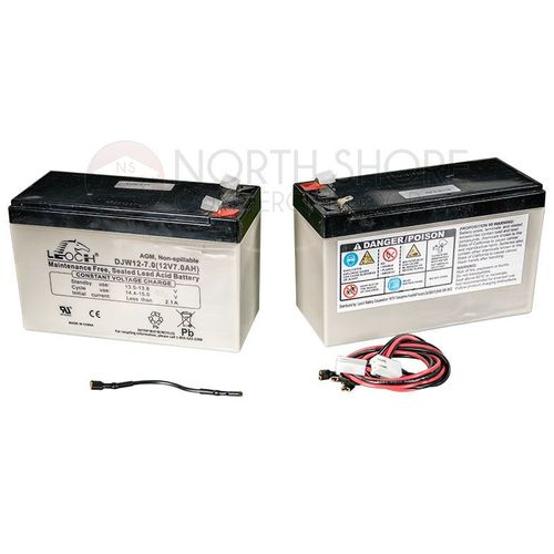 LiftMaster Battery 2-Pack for Gate Openers - K74-30762