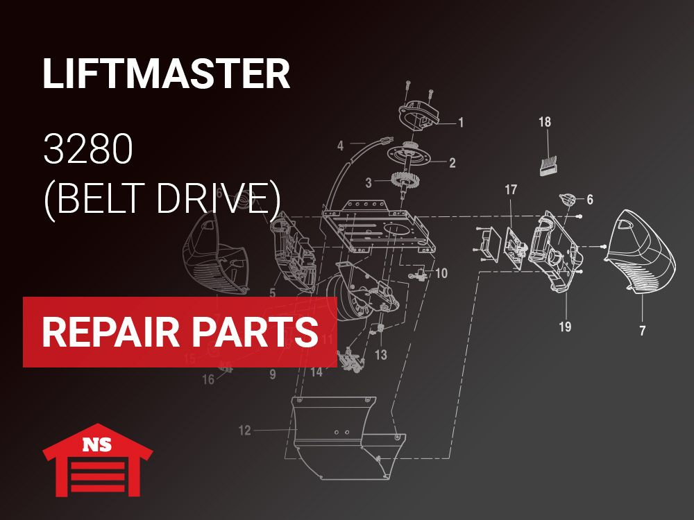 Liftmaster 3280 Formula I Garage Door Repair Parts