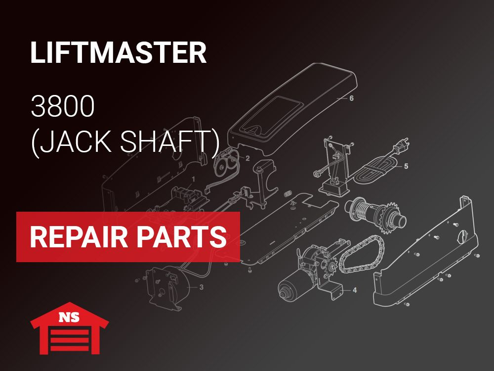 Liftmaster 3800 Jackshaft Repair Parts