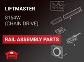 LiftMaster Model 8164W Rail Assembly Parts