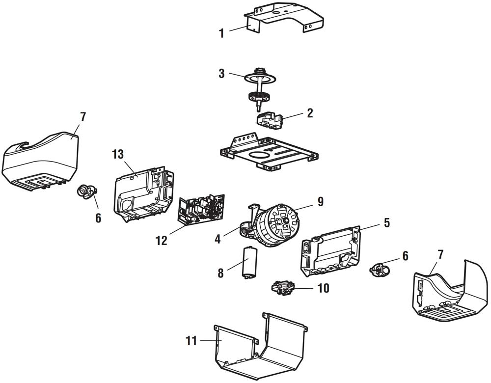 liftmaster gate openner schematics  liftmaster garage door opener parts diagram | dandk organizer
