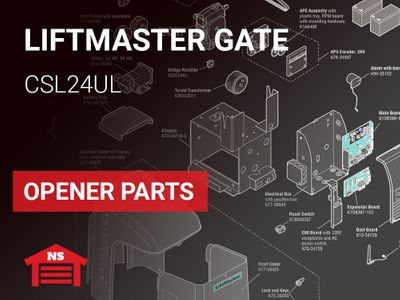 LiftMaster CSL24UL Gate Opener Parts