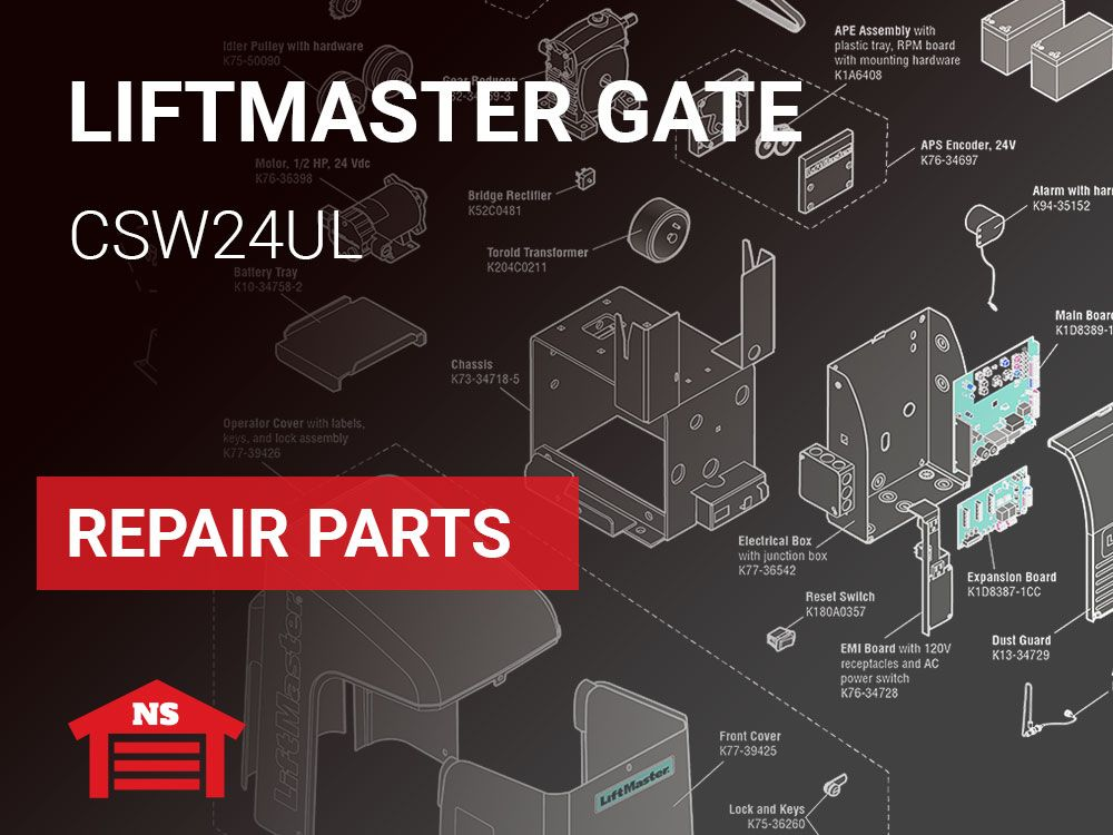 Liftmaster Csw24ul Gate Operator Parts Accessories
