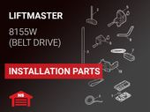 LiftMaster Model 8155W Installation Parts
