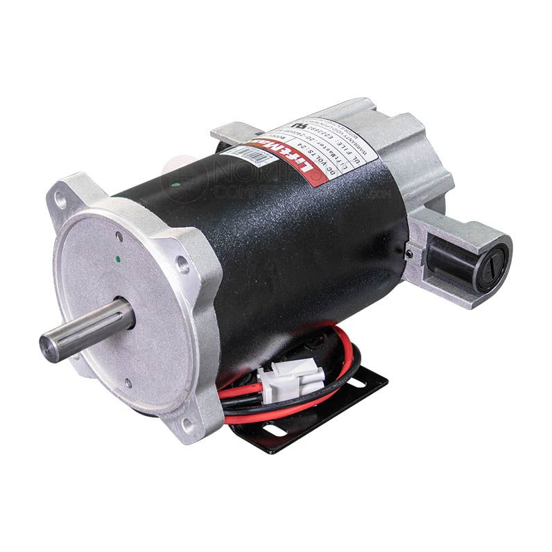 Compact Motor At The Center Of Operations To Do Heavy Lifting