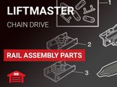Liftmaster Rail Assembly Chain Drive Parts