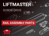 Liftmaster Rail Assembly Parts Screw Drive & Low Profile Screw Drive