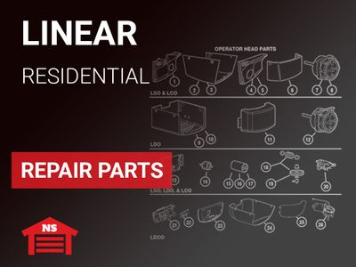 Linear Residential Repair Parts by Model Number