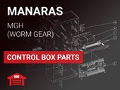 Manaras MGH Control Box Parts