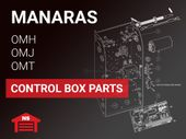 Manaras OMH, OMJ and OMT Control Box Parts