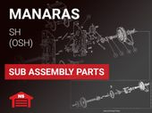 Manaras SH (OSH) Sub Assembly Parts