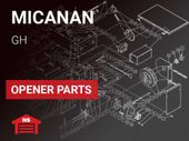 Micanan Model GH Operator Parts