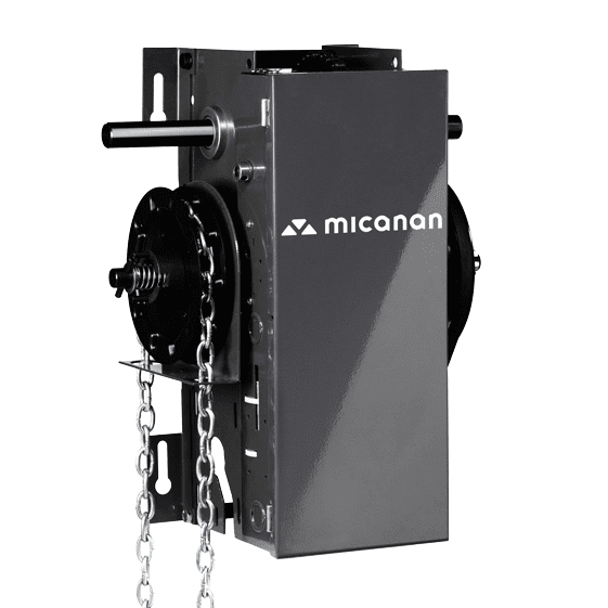 Micanan Pro Lh Light Duty Hoist Commercial Garage Door