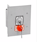 MMTC 1KFSX Exterior Tamperproof Open-Close Key Switch With Stop Button Flush Mount