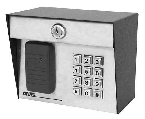 Security Brands 23-206kp Prox 2000 LI – HID Standalone Proximity Card Reader Post Mount with Keypad