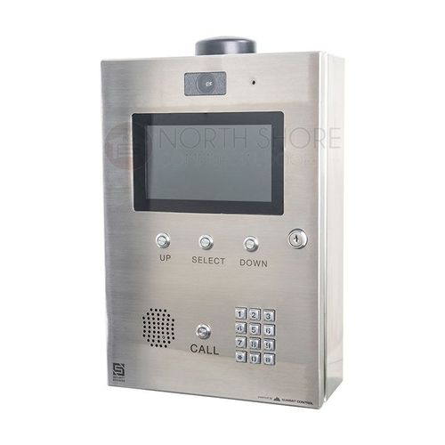 Security Brands 16-M2 Ascent M2 - Cellular Multi-Tenant Telephone Entry System with 7-inch LCD