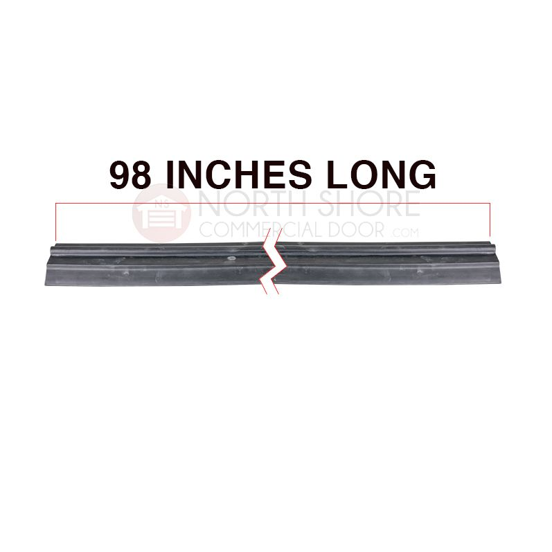 Todco 69987 Bottom Seal Rubber Refrigerated 2 1 2 Inch