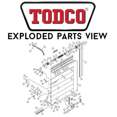 TODCO Exploded Parts View